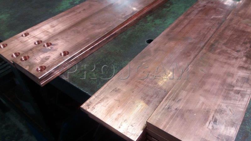 Cortador de barramento de cobre