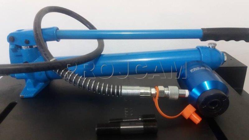 Perfurador de chapa hidráulico